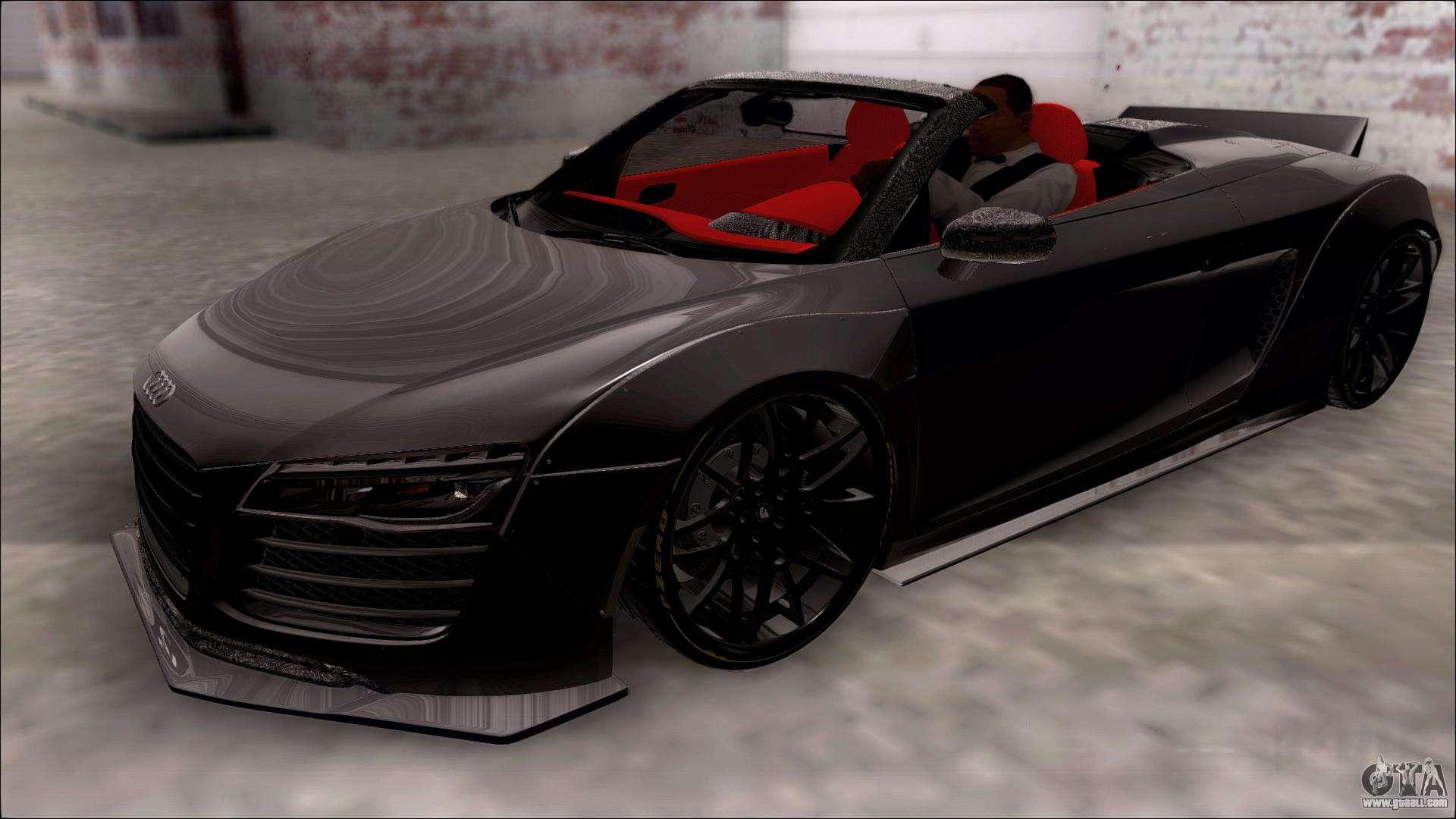 Audi r8 v10 spyder 14