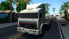"KamAZ 54115 ""Truckers"" for GTA San Andreas"