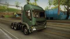 Iveco Trakker Hi-Land 6x4 Cab High v3.0 for GTA San Andreas