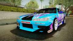 Nissan Silvia S15 Cirno Touho Project Itasha for GTA San Andreas