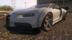 Bugatti Chiron Widebody for GTA 5