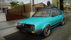 Volkswagen Golf Mk2 1991 for GTA San Andreas
