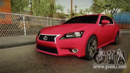 Lexus GS350 F Sport for GTA San Andreas