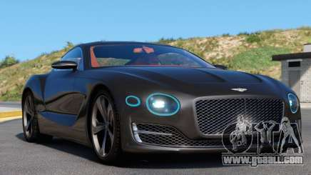 Bentley EXP 10 Speed 6 for GTA 5