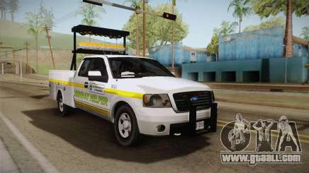 Ford F-150 2005 San Andreas DOT Highway Helper for GTA San Andreas