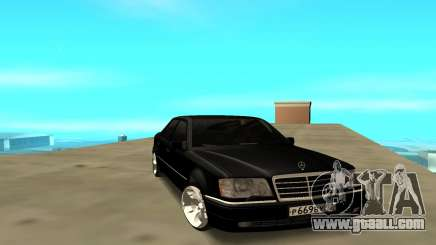 Mercedes Benz E500 W124 for GTA San Andreas