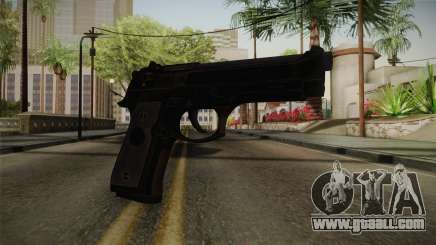 CoD 4: MW - Beretta M9 Remastered for GTA San Andreas