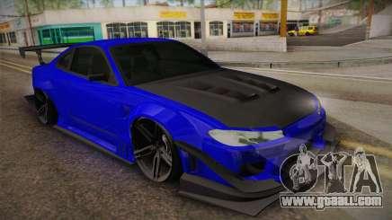 Nissan Silvia S15 Crew 99 for GTA San Andreas