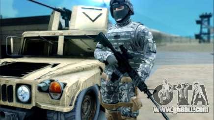 New Military USA Skin for GTA San Andreas