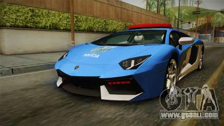 Lamborghini Aventador LP700-4 PMERJ for GTA San Andreas