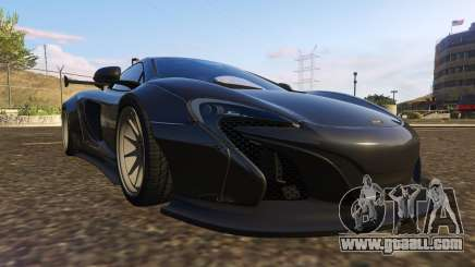 McLaren 650S Coupe Liberty Walk for GTA 5