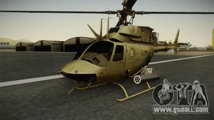 OH-58D Croatian Air Force for GTA San Andreas