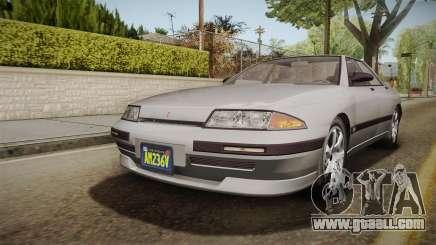 GTA 5 Zirconium Stratum Sedan for GTA San Andreas