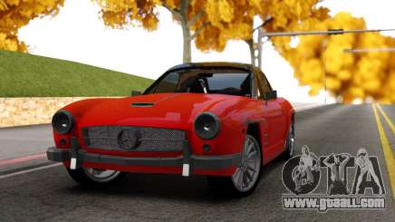 Mercedes 190 S for GTA San Andreas
