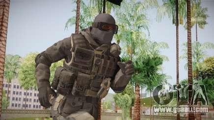 CoD 4: MW Remastered SAS v1 for GTA San Andreas