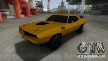 1971 Plymouth Hemi Cuda 426 for GTA San Andreas