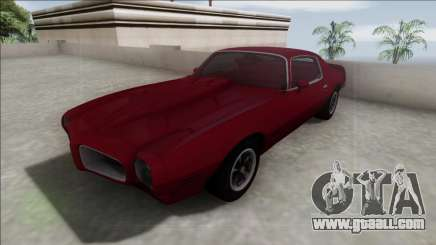 1970 Pontiac Firebird for GTA San Andreas