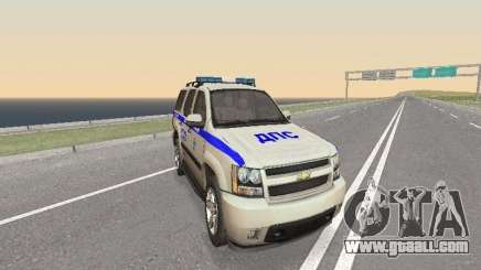 Chevrolet Tahoe Police DPS for GTA San Andreas