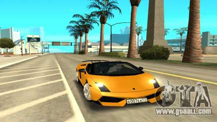 Lamborghini Gallardo for GTA San Andreas