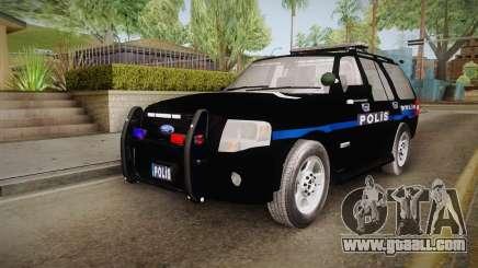 Ford Ranger Police for GTA San Andreas