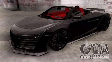 Audi R8 Spyder 5.2 V10 Plus LB Walk for GTA San Andreas