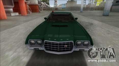 1972 Ford Gran Torino FBI for GTA San Andreas right view