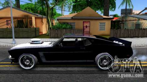 Ford Mustang Boss 557 for GTA San Andreas left view