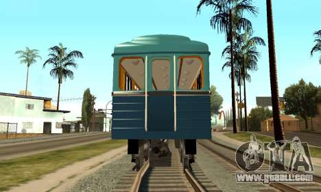 ST_M Metrovagon type Hedgehog for GTA San Andreas inner view