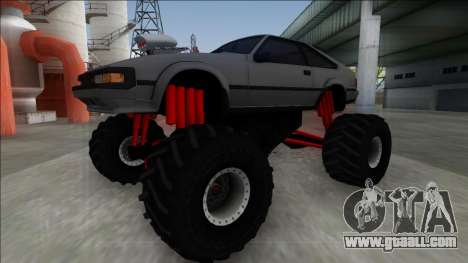 1984 Toyota Celica Supra MK2 Monster Truck for GTA San Andreas