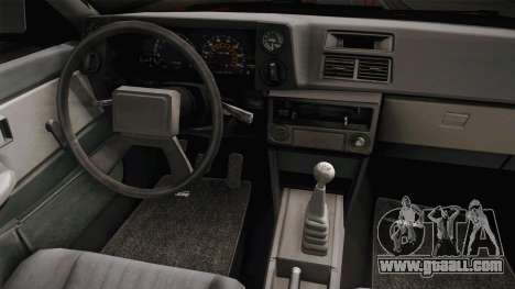 Toyota Corolla GT-S Monster Truck for GTA San Andreas inner view