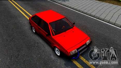 VAZ 2108 Drag for GTA San Andreas right view