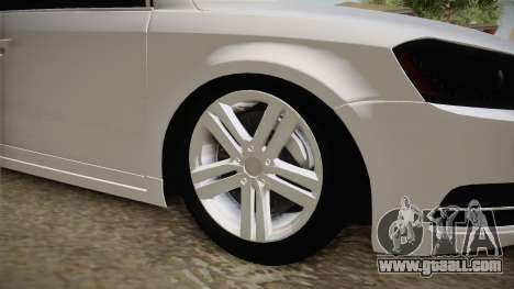 Volkswagen Passat 2011 Beta for GTA San Andreas back view