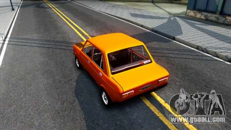Fiat 128 v3 for GTA San Andreas back view