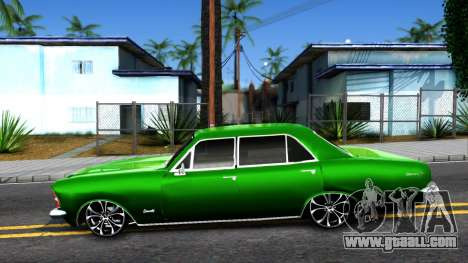 Chevrolet Opala 1976 for GTA San Andreas left view