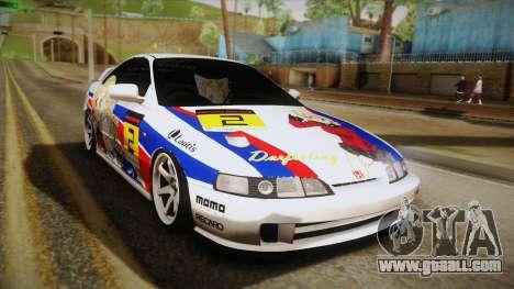 Honda Integra Tipe R Girl und Panzer Itasha for GTA San Andreas