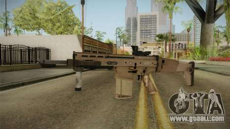 Battlefield 4 - FN SCAR-H for GTA San Andreas