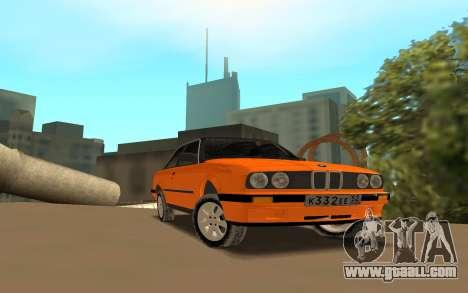 BMW E 30 for GTA San Andreas