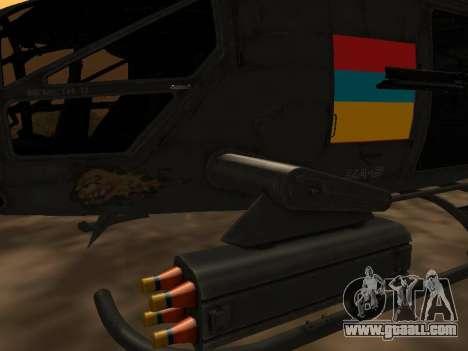 SA-2 Samson Armenian for GTA San Andreas back left view