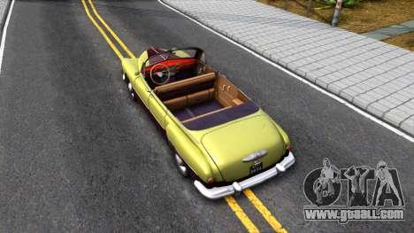 GAZ-12 (ZIM) Phaeton for GTA San Andreas back view