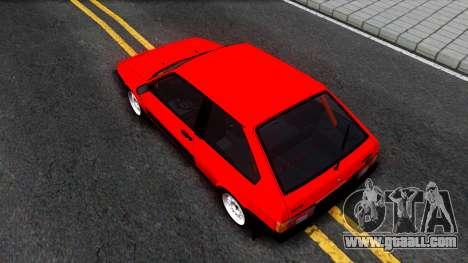 VAZ 2108 Drag for GTA San Andreas back view