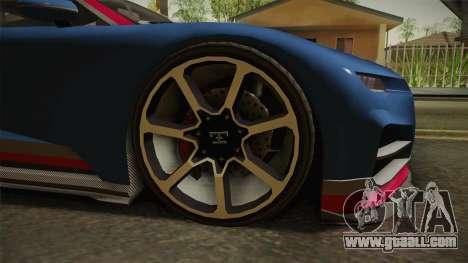 GTA 5 Truffade Nero for GTA San Andreas back view
