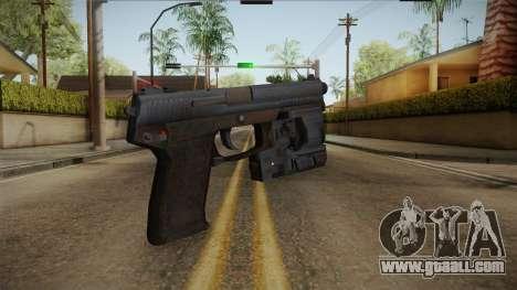 Metal Gear Solid 4 - MK23 Socom for GTA San Andreas third screenshot
