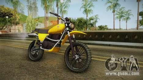 GTA 5 Dinka Enduro SA Style for GTA San Andreas