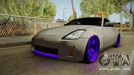 Nissan 350Z Drift for GTA San Andreas