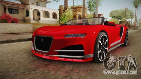 GTA 5 Truffade Nero Spyder for GTA San Andreas