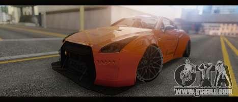 2015 Nissan GT-R R35 Liberty for GTA San Andreas