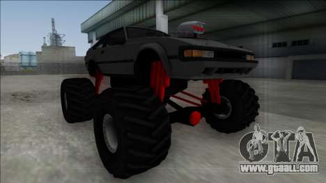 1984 Toyota Celica Supra MK2 Monster Truck for GTA San Andreas right view