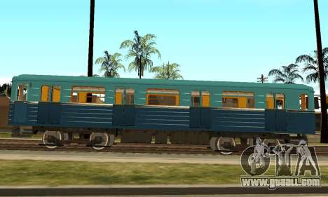 ST_M Metrovagon type Hedgehog for GTA San Andreas back view