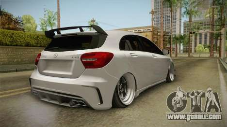 Mercedes-Benz A45 AMG 4Matic 2016 for GTA San Andreas right view