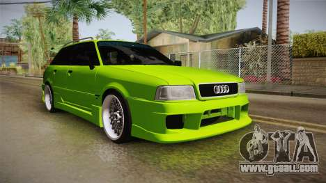 Audi 80 NFS for GTA San Andreas right view